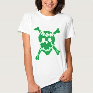 Irish Shamrock Skull T-Shirt