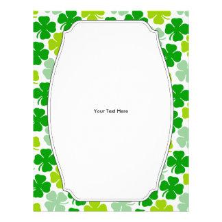 Irish Shamrock St. Patrick's Day Flyer Design