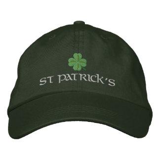 Irish shamrock St Patrick's Embroidered Hats