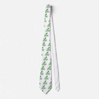 Irish Shamrock Tie
