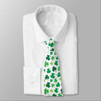 Irish Shamrock Tie | St. Patricks Day Attire