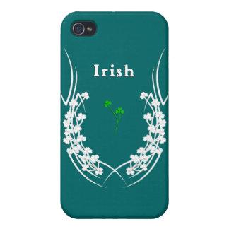 Irish Shamrock Too iPhone 4 Covers