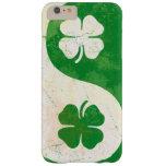 Irish Shamrock Yin Yang Barely There iPhone 6 Plus Case