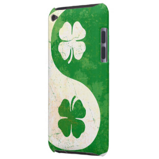 Irish Shamrock Yin Yang iPod Touch Case-Mate Barel