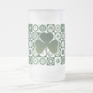 Irish shamrocks beer steins, mugs & cups