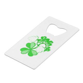 Irish Shamrocks Bottle Opener