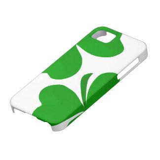 Irish shamrocks iPhone 5 case