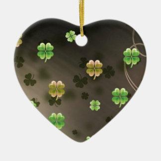 Irish Shamrocks Christmas Ornament