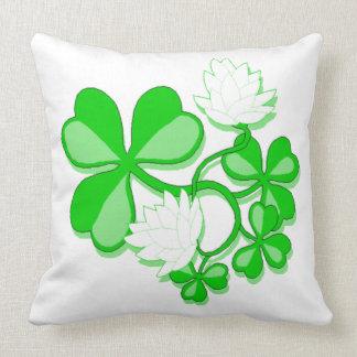 Irish Shamrocks Cushion
