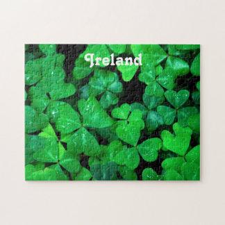 Irish Shamrocks Jigsaw Puzzles
