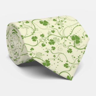 IRISH SHAMROCKS TIE