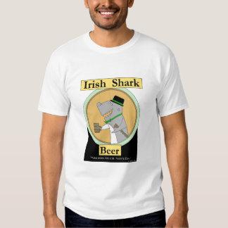 Irish Shark Beer Tee Shirt