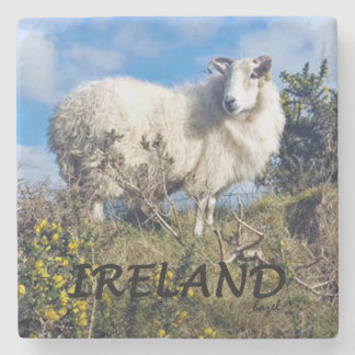 Irish Sheep, Ireland Marble Coaster