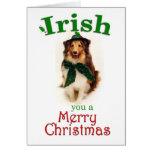 Irish Sheltie Card