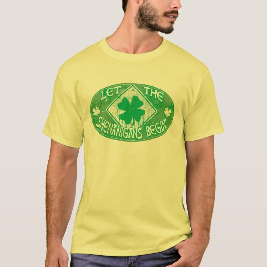 Irish  Shenanigans T-Shirt