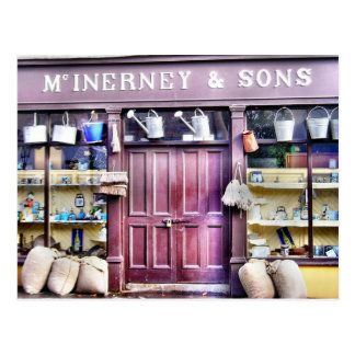 Irish Shop Postcard