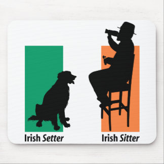 Irish Sitter Mousepad