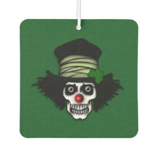 Irish Skeleton Clown Car Air Freshener