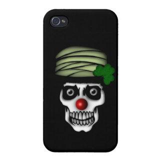Irish Skeleton Clown Covers For iPhone 4