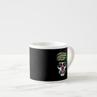 Irish Skeleton Clown Espresso Mug