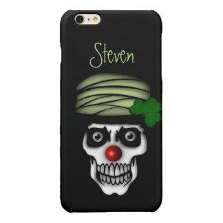 Irish Skeleton Clown Personal iPhone 6 Plus Case