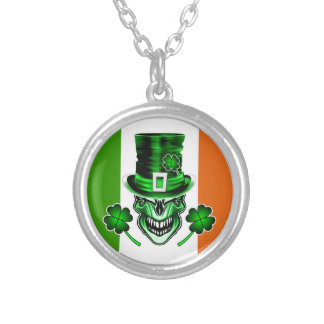 Irish Skull 3: Laughing Leprechaun Necklaces