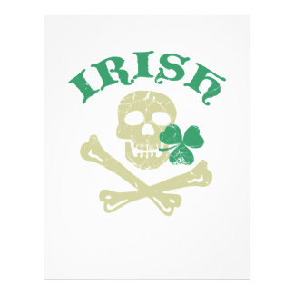 Irish skull flyers