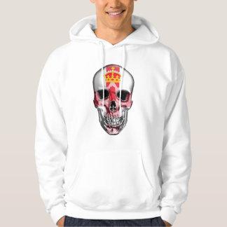 Irish Skull Imprint Hoodie