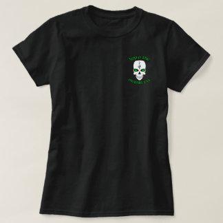 Irish Skull Top O The Mornin To Ya Tshirt