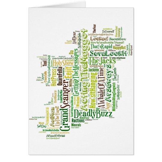 Irish Slang Mpa Card