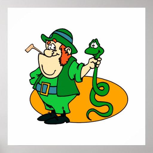 Irish Snake Catcher Poster