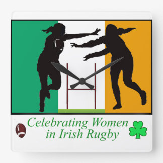 Irish Sport Images for Square Wall Clock