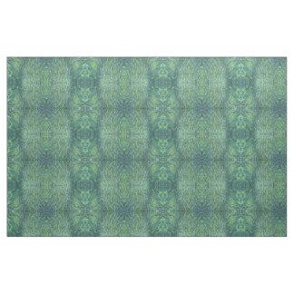 'Irish Spring' Shades of Green & Blue Boho Fabric