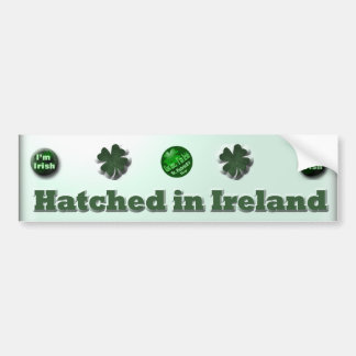 Irish St Patrick s Day gifts Bumper Stickers