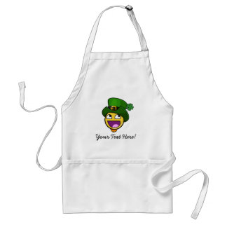 Irish St. Patrick's Day Awesome Face Meme Aprons
