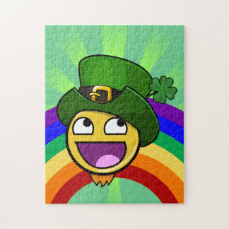 Irish St. Patrick's Day Awesome Face Meme Puzzles
