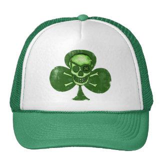 Irish St. Patrick's Day Pirate Clover Hat