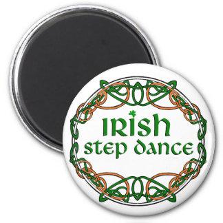 Irish Step Dance 6 Cm Round Magnet