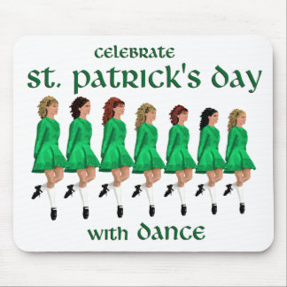 Irish Step Dance Celebrates St. Patrick's Day Mouse Pad