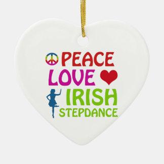irish Step dance designs Christmas Ornament