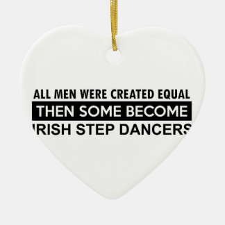 Irish Step dance designs Christmas Ornament