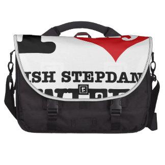 irish Step dance designs Laptop Bag