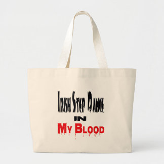 Irish Step Dance In Blood Canvas Bags