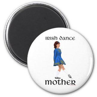 Irish Step Dance Mother - Blue Soft Shoe Refrigerator Magnet