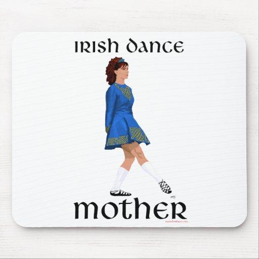 Irish Step Dance Mother - Blue Soft Shoe Mousepad
