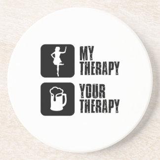 irish step dance my therapy coasters