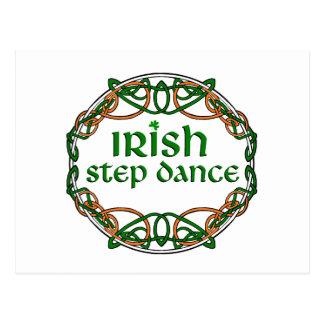 how to write a postcard in irish dance