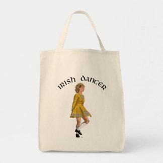 Irish Step Dancer - Gold Dress