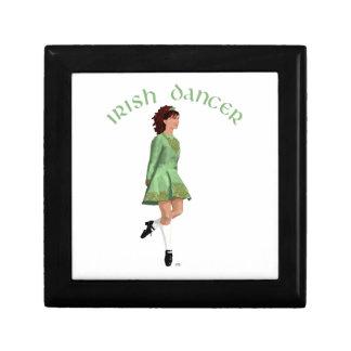 Irish Step Dancer - Green Gift Box