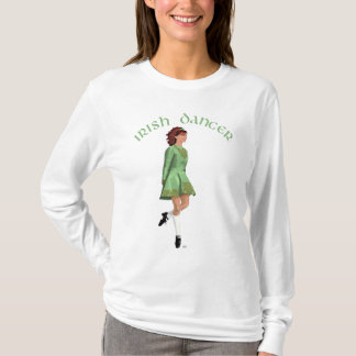 Irish Step Dancer - Green T-Shirt